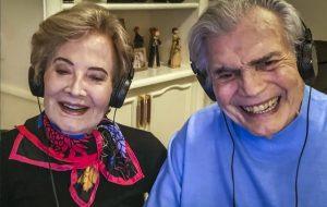 Glória Menezes e Tarcísio Meira são internados em São Paulo com Covid-19