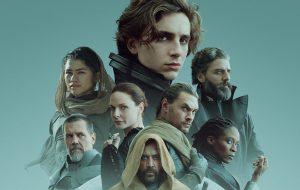 """Elenco principal de """"Duna"""" estampa poderoso cartaz do filme"""