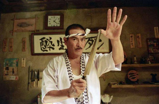 Ele interpretou Hattori Hanzo no filme de Quentin Tarantino (Reprodução)