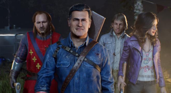 """Game terá personagens dos filmes e séries da franquia """"Evil Dead"""" (Reprodução)"""