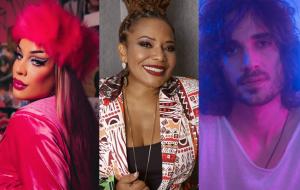 """Gloria Groove, Margareth Menezes e Fiuk vão participar de quadro do """"Domingão Com Huck"""""""