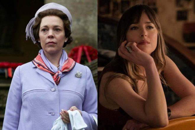As atrizes são dirigidas por Maggie Gyllenhaal (Reprodução)