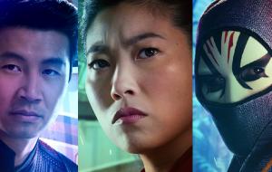 """Heróis e vilões de """"Shang-Chi e a Lenda dos Dez Anéis"""" estampam cartazes individuais do longa"""