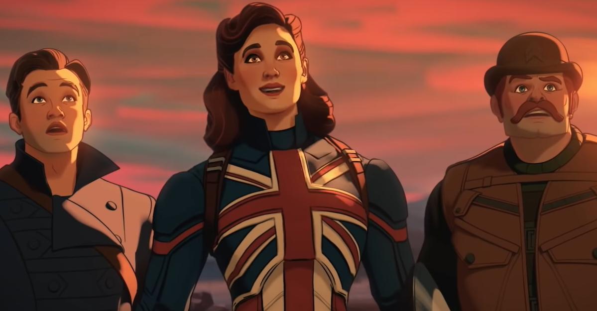"""Steve Rogers surpreende Capitã Britânia em teaser de """"What If…?"""", série do  Disney+"""