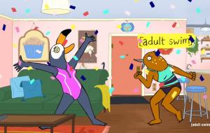 """""""Tuca & Bertie"""" é renovada para 3ª temporada pelo Adult Swim"""
