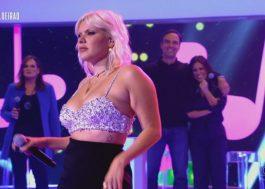 """Duda Beat interpreta """"Toxic"""", de Britney Spears, no Caldeirão com Mion"""