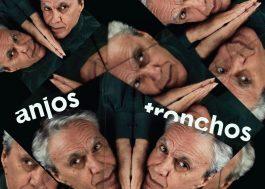 """Caetano Veloso revela capa de """"Anjos Tronchos"""", single que estreia amanhã"""
