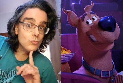 Nova voz do Scooby-Doo