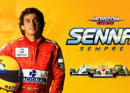 """""""Horizon Chase"""" faz tributo a Ayrton Senna em nova expansão; confira o emocionante trailer"""