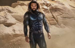 """Jason Momoa divulga traje do Rei dos Mares para """"Aquaman and the Lost Kingdom"""""""