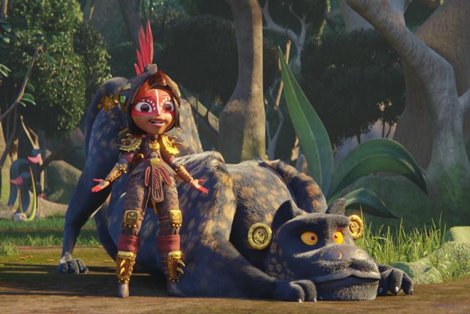 """Animação foi dirigida porJorge R. Gutiérrez, de """"Festa no Céu"""" (Divulgação)"""