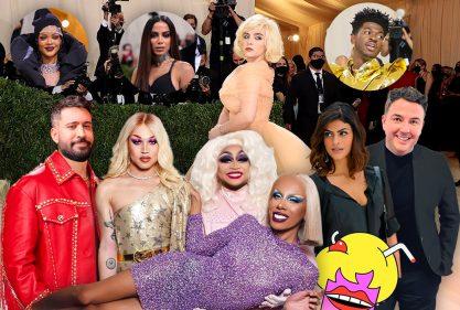 Fofocas sobre celebridades, VMA e Met Gala