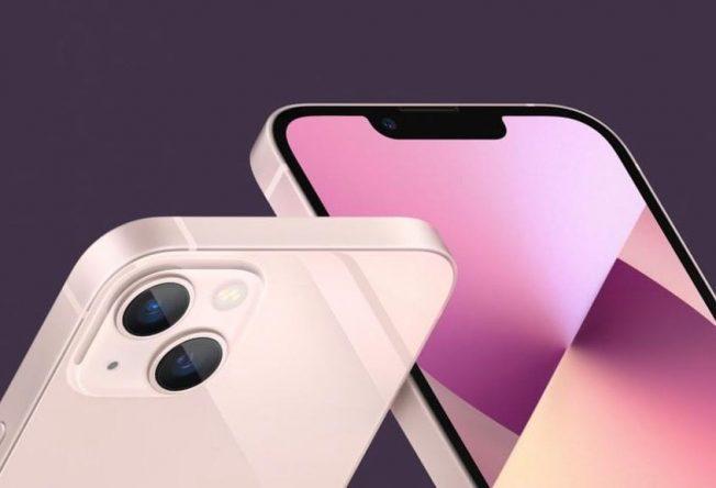 Há cinco cores de iPhone 13 (Foto: Divulgação)