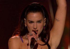 Dua Lipa oferece amostra de turnê em show no iHeartRadio Music Festival; assista