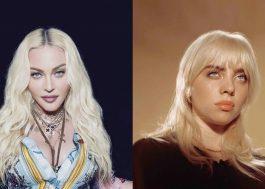"""Madonna comenta empoderamento sexual de Billie Eilish: """"Se fosse um homem, ninguém diria uma palavra"""""""