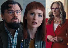 """Leonardo DiCaprio, Jennifer Lawrence e Meryl Streep falam sobre cometa em cena de """"Não Olhe para Cima"""""""