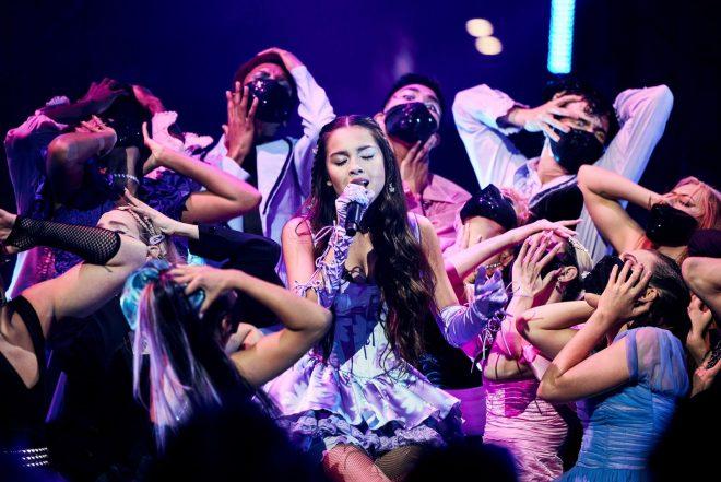 A artista fez sua estreia na premiação (Getty Images)