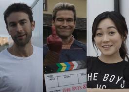 """""""The Boys"""": elenco celebra fim das gravações da terceira temporada"""