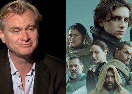 """Christopher Nolan elogia """"Duna"""": """"Casamento perfeito entre fotografia e efeitos visuais"""""""