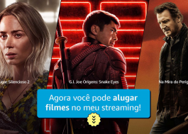 Amazon disponibiliza Loja Prime Video, serviço de aluguel de filmes, no Brasil