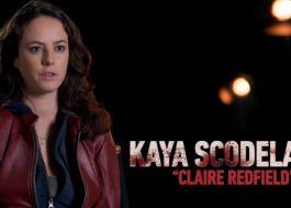 """Resident Evil"": Kaya Scodelario fala sobre interpretar Claire Redfield em vídeo de bastidores"