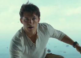 """""""Uncharted"""": jornada dos videogames ganha vida no 1º trailer do filme"""
