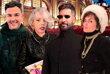 Alaniitcha no Wanda botando globais em Hollywood