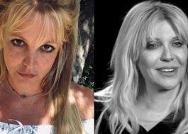 Courtney Love aconselha Britney Spears a deixar os EUA após fim de curatela