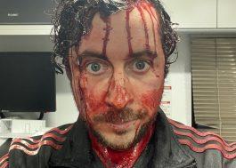 """""""Evil Dead Rise"""": diretor anuncia fim das gravações com fotos dos bastidores"""