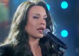 """Gloria Groove incorpora Ana Carolina e canta """"Encostar Na Tua"""" no """"Show Dos Famosos"""""""