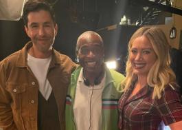"""Josh Peck, Phill Lewis e Hilary Duff se reúnem no set de """"How I Met Your Father"""""""