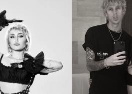 Miley Cyrus brinca que também namora Megan Fox em interação com Machine Gun Kelly