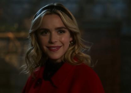 "Sabrina Spellman em ""Riverdale"""