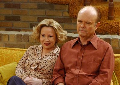 Os atores interpretam o casal Red e Kitty Forman (Divulgação)