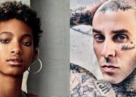 Willow e Travis Barker falam sobre a importância do rock, liberdade e representatividade para Rolling Stone